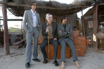 Adrien Brody , Owen Wilson and Jason Schwartzman in Fox Searchlight's The Darjeeling Limited