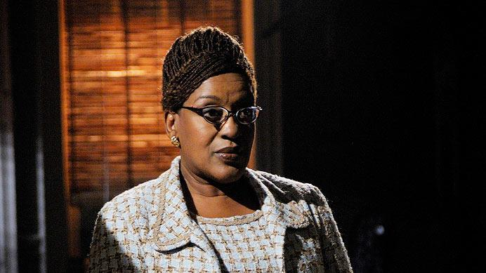 "CCH Pounder stars as Mrs. Frederic in ""Warehouse 13."""