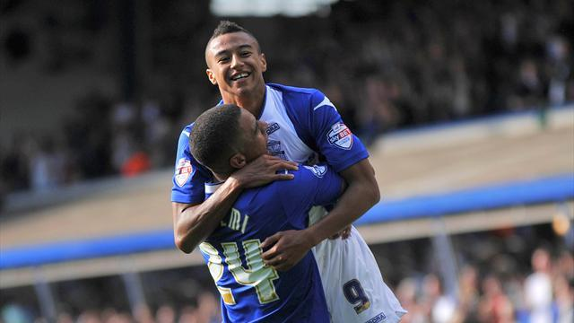Championship - United's Lingard extends Birmingham stay