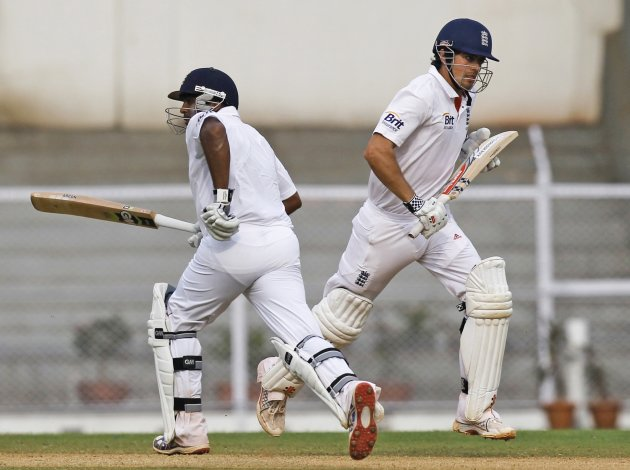 Cook and Patel saved the day for England.