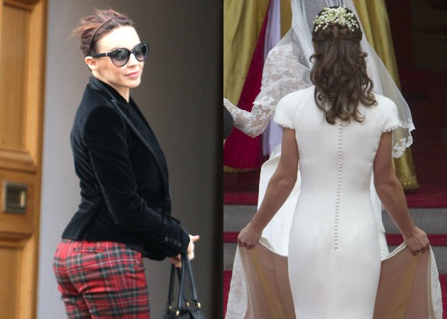 Kylie Minogue, Pippa Middleton, bum, Jubilee Concert