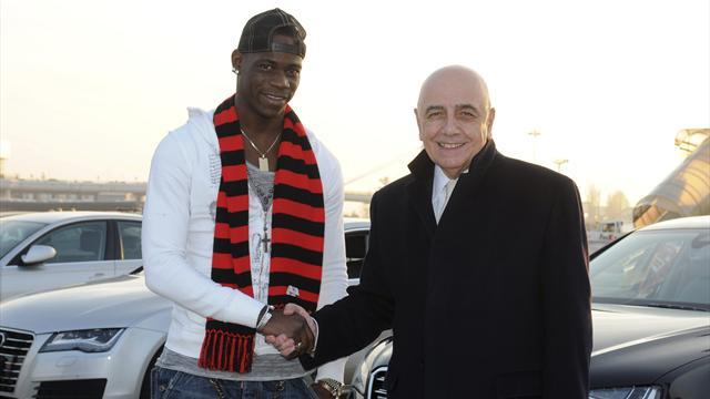 Serie A - Balotelli seals Milan move