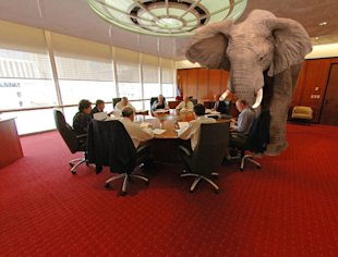 B2B Content Marketing: The Elephant In The Room image elephant in the room1