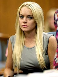 Lindsay Lohan. Photo: Pool/Splash News Online