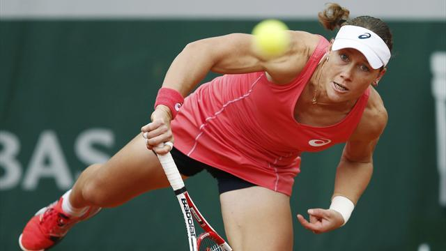 French Open - Stosur powers into second round