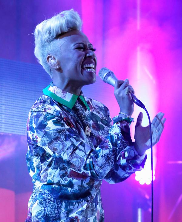 Emeli Sande Spends Oscar Night With Bono and Elton John