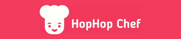 HopHop Chef app - book a local chef to cook at your home