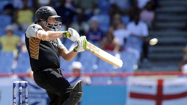 New Zealand's Jesse Ryder scored a century in Queenstown but still played second fiddle to Corey Anderson, who hit the fastest ever ODI ton