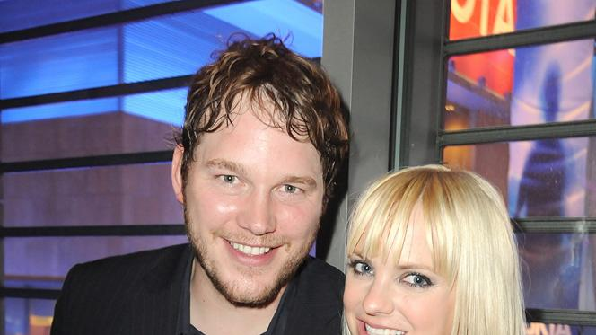 Take Me Home Tonight 2011 LA Premiere Chris Pratt Anna Faris