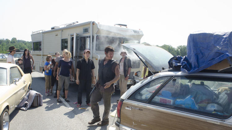 "The cast of ""The Walking Dead."""