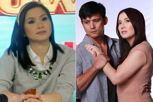 (L) Mariel Rodriguez (Photo courtesy of TV5) (R) Robin Padilla and Kris Aquino (Photo courtesy of ABS-CBN)