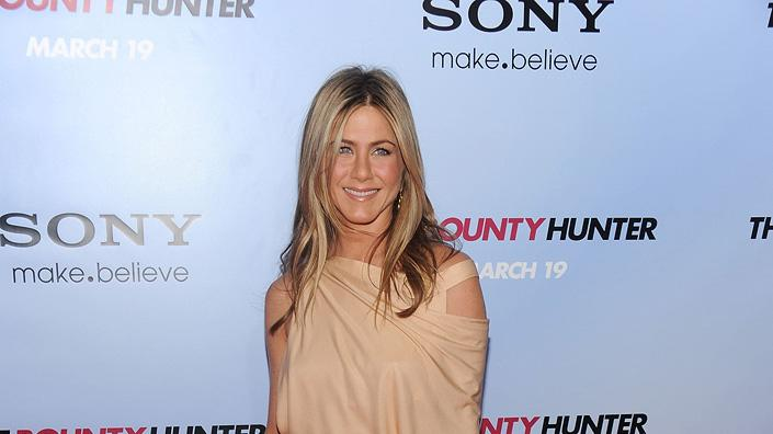 The Bounty Hunter NY Premiere 2010 Jennifer Aniston