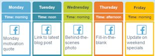 How To Create A Social Media Posting Schedule image Schedule3