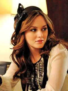 "Blair Waldorf on ""Gossip Girl,"" played by Leighton Meester"