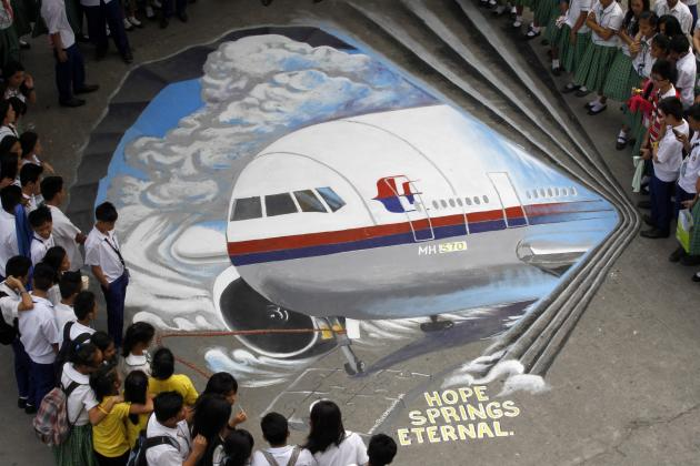 Filipino artists express their sympathy for the missing Malaysian jetliner