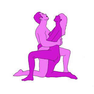 Sex position of the day: Mirrored upright position