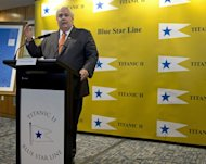 "Australian tycoon Clive Palmer, who intends to build the ""Titanic II"", said he had ordered more than 100 life-size robots"