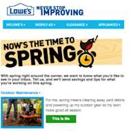 Mobile Marketing And Email: 4 Ways To Use Them Together image lowes 215x215