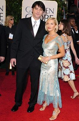 Goran Visnjic with wife Ivana 62nd Annual Golden Globe Awards - Arrivals Beverly Hills, CA - 1/16/05
