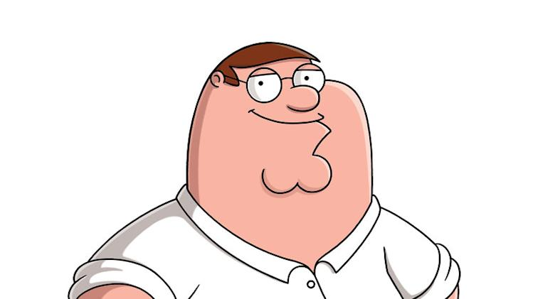 "Peter (voiced by Seth MacFarlane) stars in ""The Family Guy."""