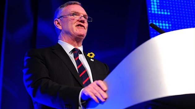 Greg Clarke, pictured, was speaking after a programme showed Millwall fans subjecting El-Hadji Diouf to racial abuse