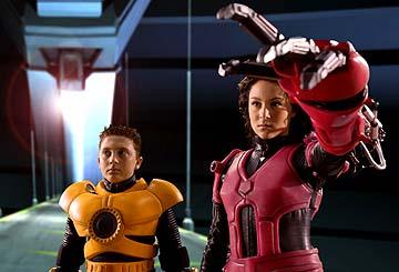 Daryl Sabara and Alexa Vega in Spy Kids 3-D: Game Over