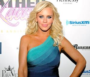Jenny McCarthy Gets Foot Tattoo During Super Bowl Blackout
