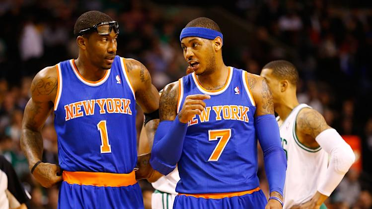 New York Knicks v Boston Celtics