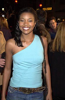 Gabrielle Union at the Mann Village Theater premiere of Columbia's Saving Silverman