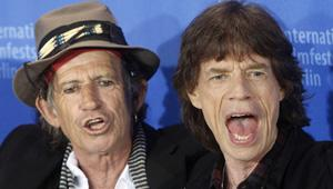 Keith Richards Frets Over Glastonbury Weather