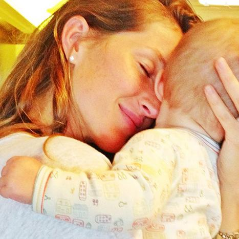 Gisele Bundchen Snuggles With Baby Vivian In Sweet Snapshot