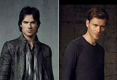 Ian Somerhalder, Joseph Morgan | Photo Credits: Justin Stephens/The CW