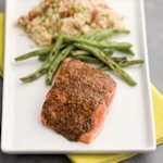 Smoky Maple-Mustard Salmon