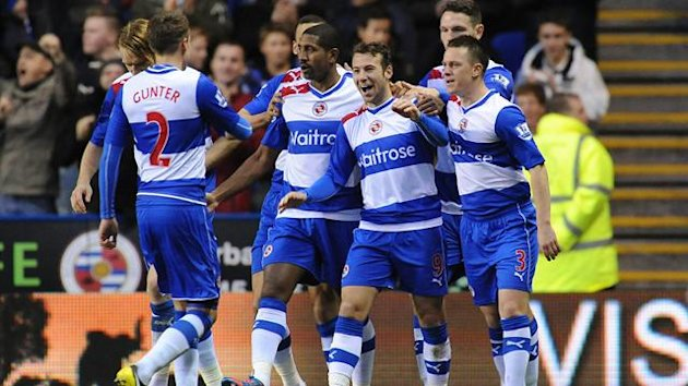 Reading's Adam Le Fondre celebrates his goal (PA Sport)