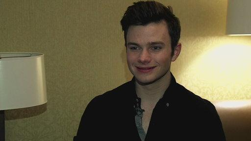 Chris Colfer On His Twitter Account Getting Hacked