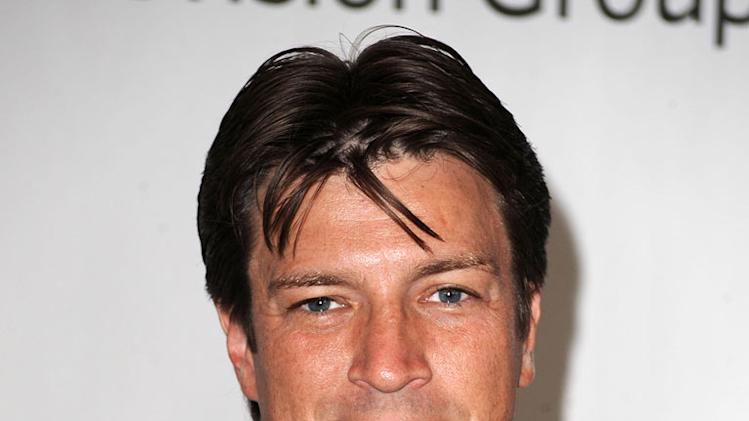 """Castle's"" Nathan Fillion arrives at NBC Universal's 2010 TCA Summer Party on July 30, 2010 in Beverly Hills, California."