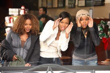 Rachel True , Jill Marie Jones and Gabrielle Union in Yari Film Group's The Perfect Holiday