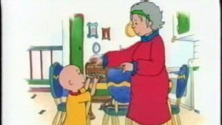 Caillou: Grandma's Neighborhood