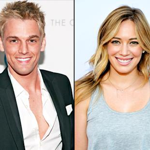 "Aaron Carter Talks About Ex-Girlfriend Hilary Duff Again: ""I Would Sweep Her Off Her Feet"""