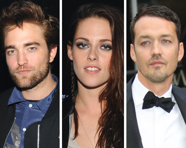 Robert Pattinson, Kristen Stewart and Rupert Sanders