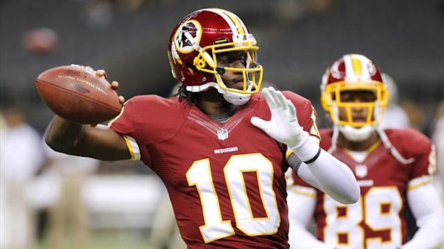 Robert Griffin III of the Washington Redskins