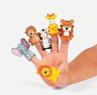 Finger Puppets ($6.49 for 24)