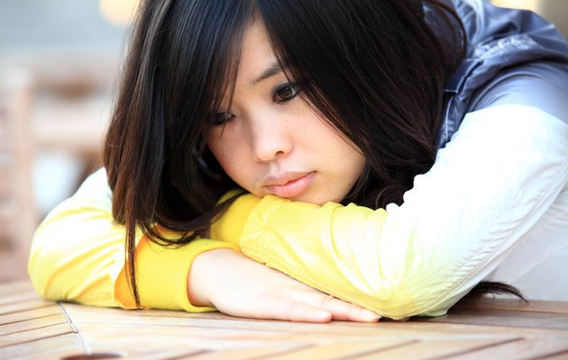 Excessive stress can lead to teenage depression (Thinkstock photo)