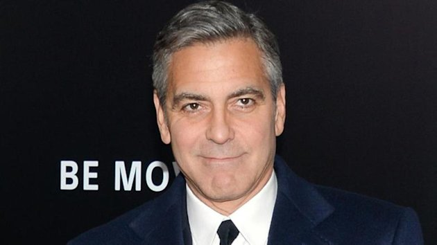 George Clooney made an unexpected appearance at New York Comic-Con (Invision/AP)