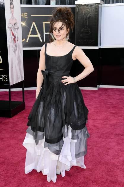 Helena Bonham Carter arrives at the Oscars on February 24, 2013 in Hollywood, Calif. -- Getty Images