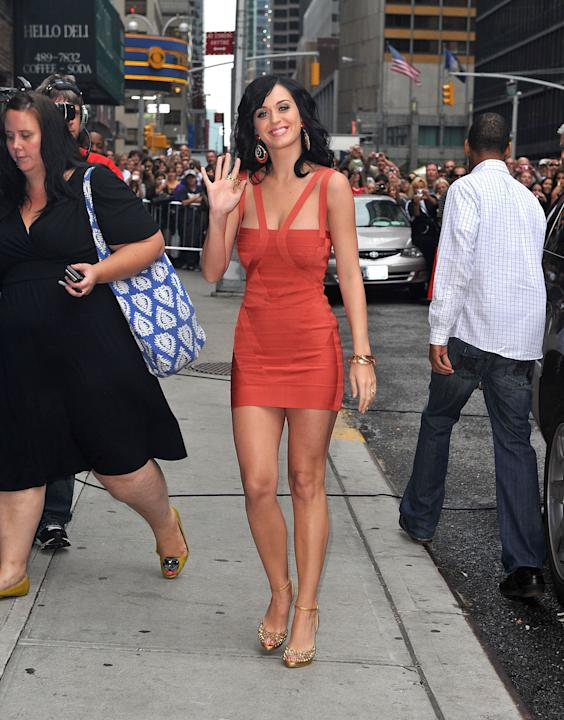 Katy Perry in Hervé Leger
