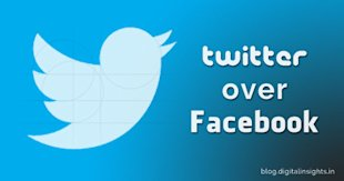 10 Reasons Why You Should Choose Twitter Over Facebook image twitter vs facebook