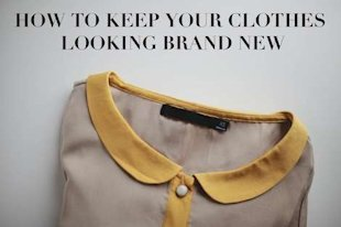 Laundry Tips: How To Keep Your Clothes Looking Brand New