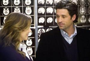 Ellen Pompeo and Patrick Dempsey | Photo Credits: ABC