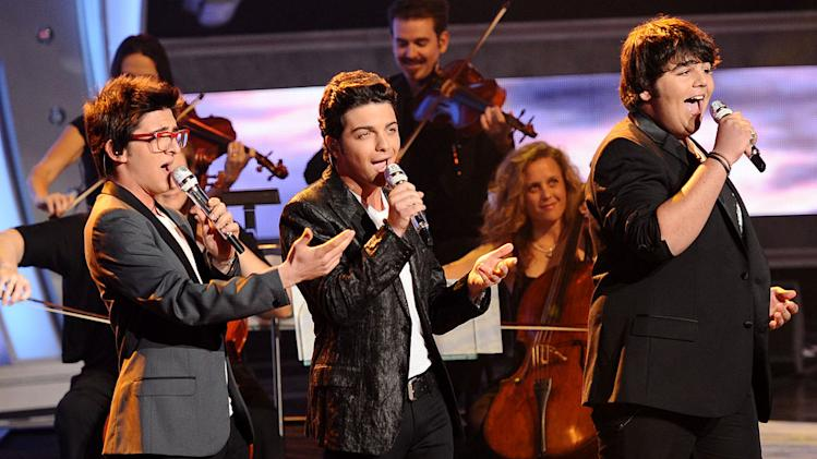 "Italian singing sensation Il Volo perform ""'O Sole Mio"" on ""American Idol."""